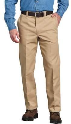 Dickies Genuine Big Men's Regular Fit Straight Leg Flat Front Pant