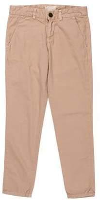 Current/Elliott Mid-Rise Skinny Pants Khaki Mid-Rise Skinny Pants