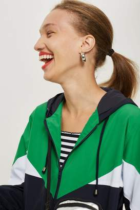 Topshop TALL Colour Block Windbreaker Jacket