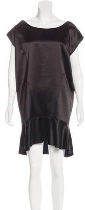 Miu Miu Satin Shift Dress