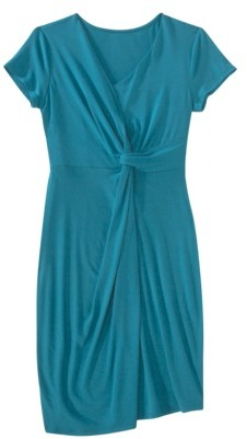 Mossimo Womens Asymmetrical Twist Dress - Assorted Colors