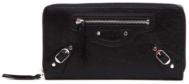 Balenciaga Balenciaga Classic Continental Zip Around Wallet