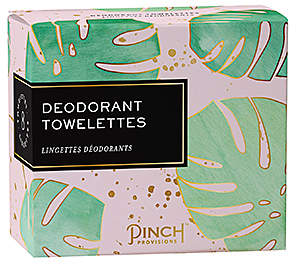 Pinch Provisions Deodorant Towelettes