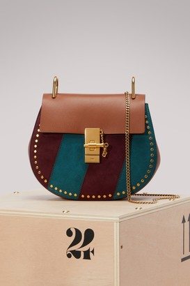 Chloé Drew Stripes Shoulder Bag
