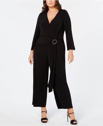 3cf6918fc0c Calvin Klein Black Plus Size Pants on Sale - ShopStyle