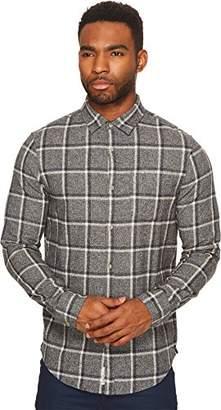 Original Penguin Men's Checkerboard Flannel Dress Shirt