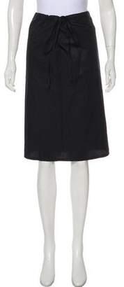Atlantique Ascoli Woven Knee-Length Skirt