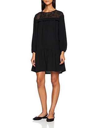 Great Plains Women's Winter Broderie Plain Long Sleeve Dress,(Manufacturer Size: S)