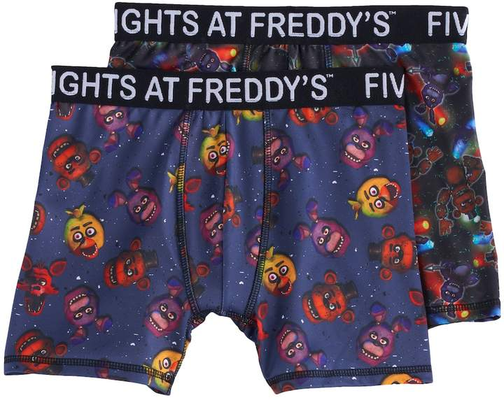 Boys 6-10 Five Nights At Freddy's 2-Pack Boxer Briefs