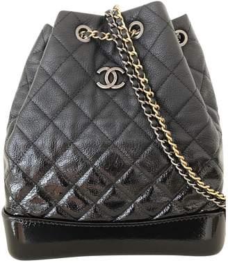 0db2b22cde0b Chanel gabrielle black leather backpacks jpg 328x379 Chanel backpacks for  women