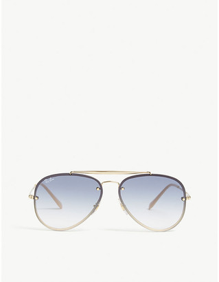 Ray-Ban Rb3584 Blaze aviator sunglasses