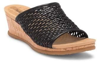 Bare Traps BareTraps Flossy Woven Wedge Sandal