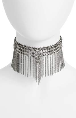 Jules Smith Designs Chain Fringe Choker