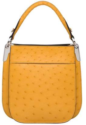 dae5be7a28 Ostrich Leather Bag - ShopStyle