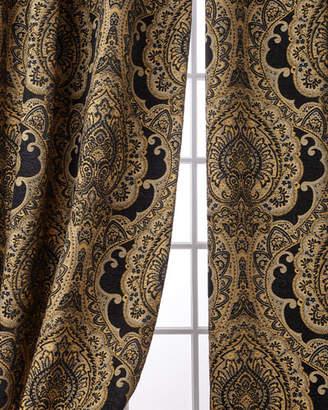 "Austin Horn Collection Valour Curtain Panel Set, 108"""