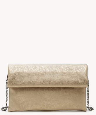 Sole Society Women's Yotam Clutch Vegan Leather Bronze From
