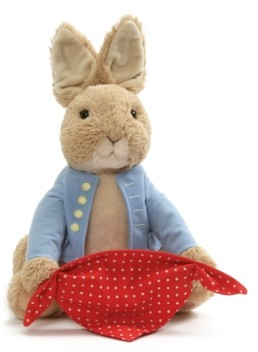 Gund Baby Boys or Girls Peek-a-Boo Peter Rabbit Plush Toy