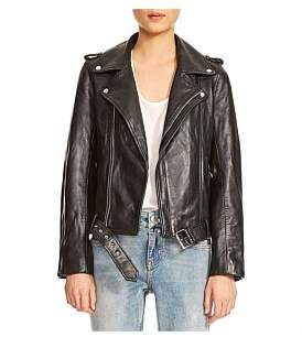 Maje Bocelix Leather Jacket