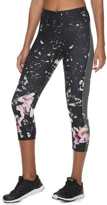 61906cd15fca9 Fila Sport Women's SPORT Printed High-Waisted Capri Leggings