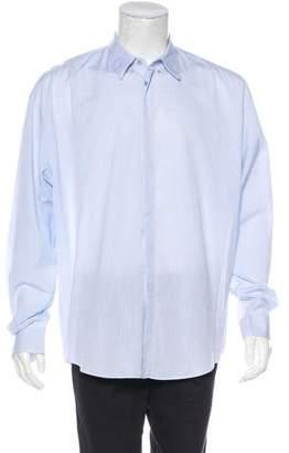 Gianni Versace Striped Button-Up Shirt