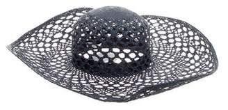 Inverni Straw Wide Brim Hat w/ Tags
