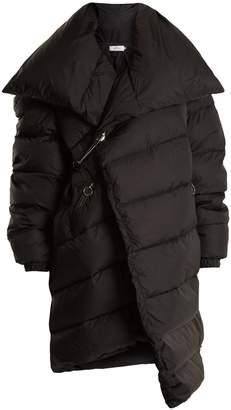 Marques Almeida MARQUES'ALMEIDA Asymmetric quilted down coat