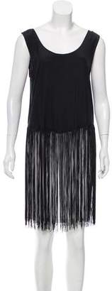 Reformation Sleeveless Fringe Top