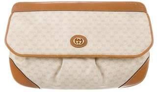 Gucci Vintage Micro GG Clutch