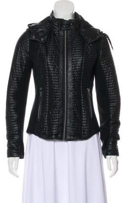 Barneys New York Barney's New York Hooded Quilted Jacket