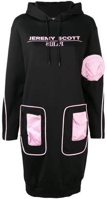 Jeremy Scott pocket patch sweater dress