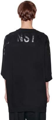 Juun.J Oversized Printed Cotton Jersey T-Shirt