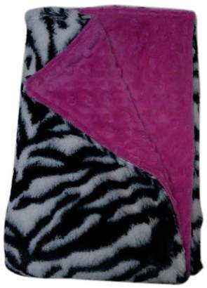Baby Doll Bedding Zebra Mini Blankets