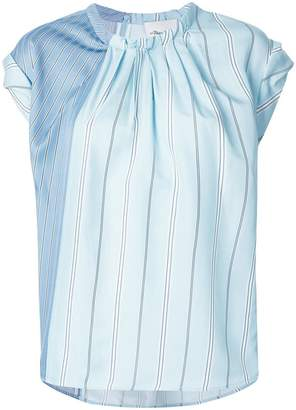 3.1 Phillip Lim asymmetric striped T-shirt