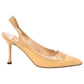 Manolo Blahnik Lizard heels