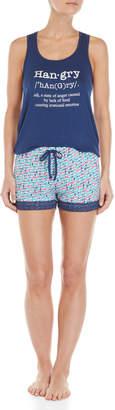 Pillow Talk Two-Piece Tank Top & Shorts Pajama Set