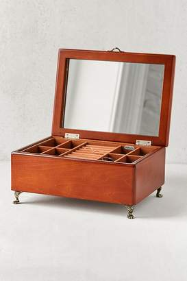 Mele Kinsley Wooden Footed Jewelry Box