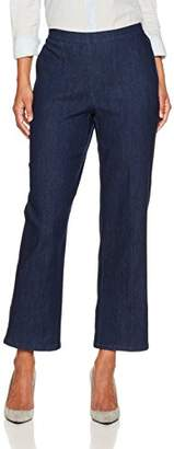 Alfred Dunner Women's Short Pant Clean Front Back Elastic Side Pockets