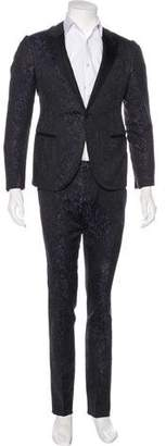 Lanvin Abstract Jacquard Tuxedo
