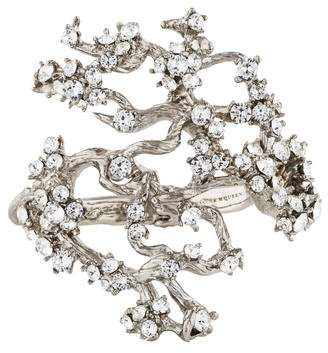 Alexander McQueen Crystal Cherry Blossom Bracelet