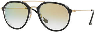 Ray-Ban Framed Aviator Sunglasses