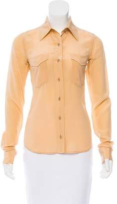 Reed Krakoff 2015 Silk Button-Up