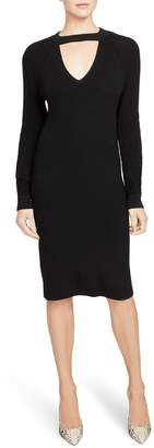Rachel Roy Collection Keyhole Detail Sweater Dress