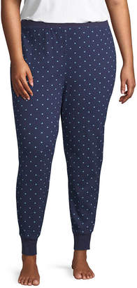 SLEEP CHIC Sleep Chic Thermal Pajama Joggers-Plus
