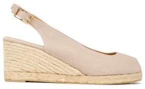 Castaner Canvas Wedge Sandals
