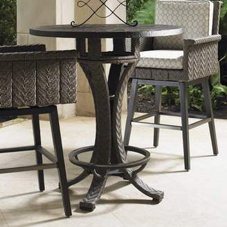 Tommy Bahama Outdoor Alfresco Living Stone/Concrete Bar Table Outdoor