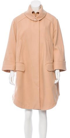 Carven Carven Wool Knee-Length Coat