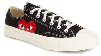 Comme des Garcons x Converse Chuck Taylor(R) Hidden Heart Low Top Sneaker