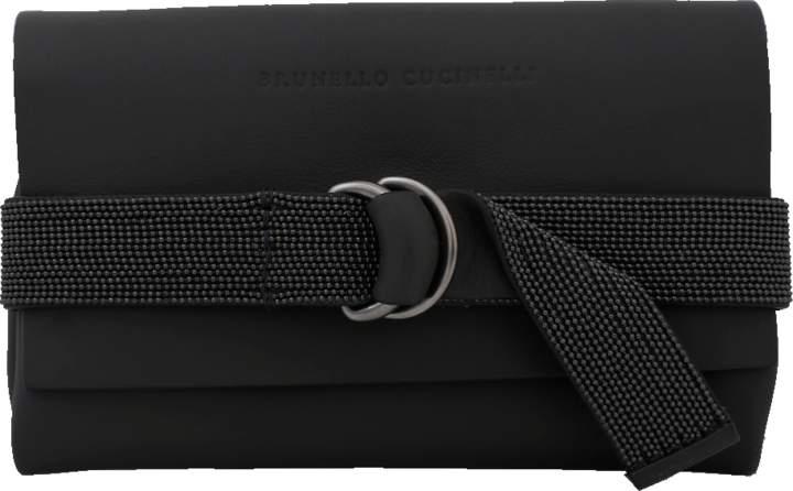 Brunello Cucinelli Mini Flap Monili Band Wallet
