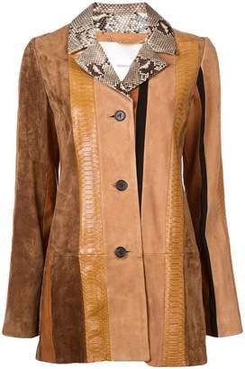 ADAM by Adam Lippes leather coat