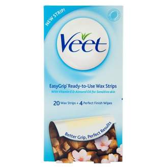 Veet Sensitive Cold Wax Strips 20 pack